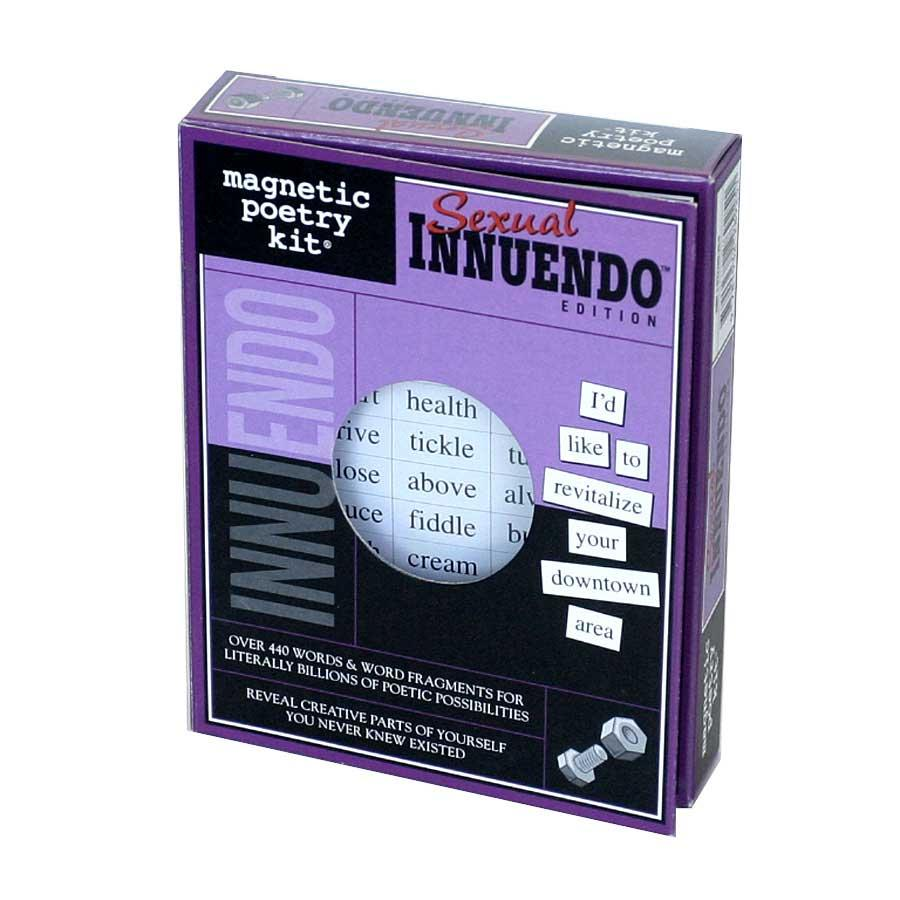 Magnetic Sexual Innuendo Poetry Kit - Thumbnail 0