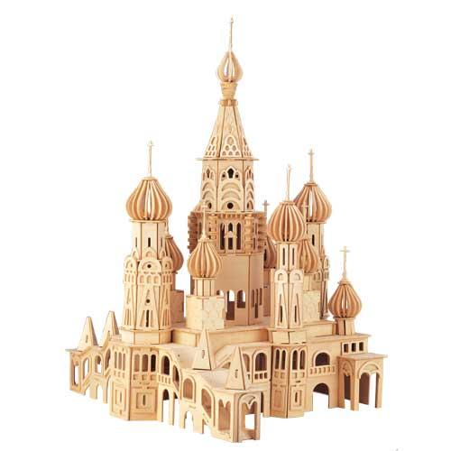 St. Petersburg Church Wooden Puzzle