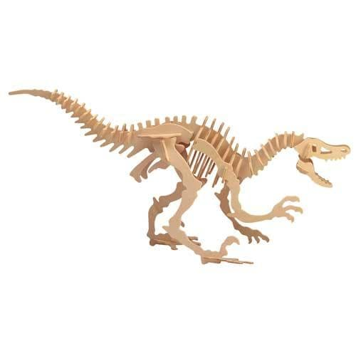 Velociraptor Wooden Puzzle - Thumbnail 0