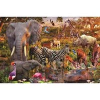 Ravensburger 3000-piece African Animals Jigsaw Puzzle