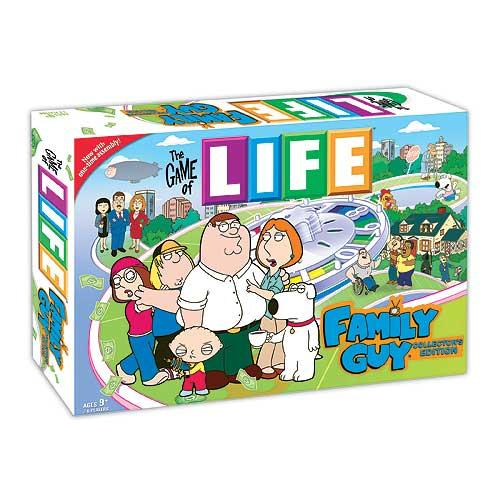 The Game of LIFE: Family Guy Collector's Edition