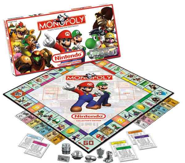 Nintendo Collector's Edition Monopoly Game