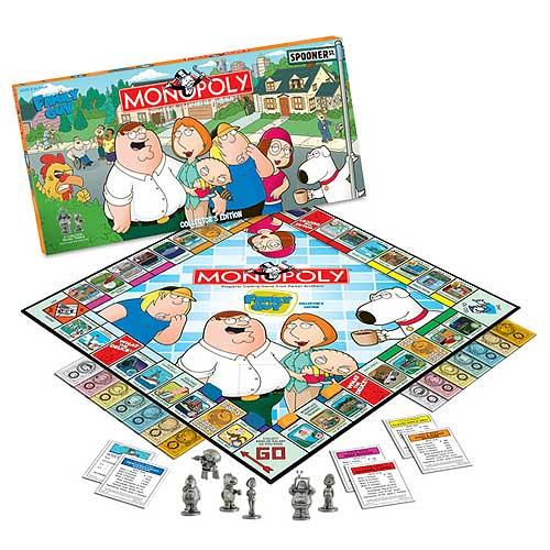Family Guy Collector's Edition Monopoly Game