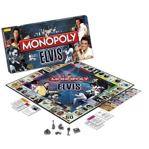 Elvis 75th Anniversary Collector's Edition Monopoly Game