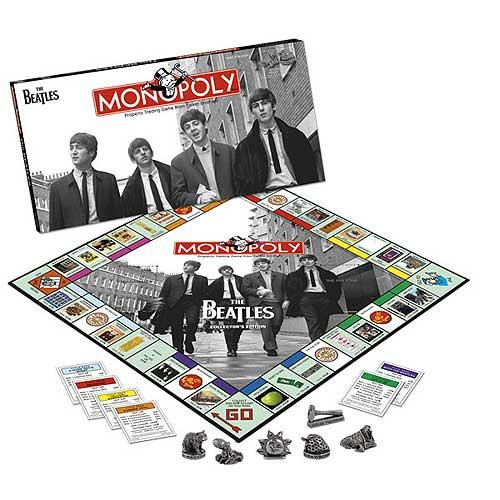 The Beatles Collector's Edition Monopoly Game