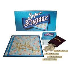 Super Scrabble Crossword Game - Blue - Thumbnail 0