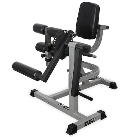CC-4 Valor Fitness Leg Curl/Extension Machine - Grey