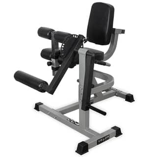 CC-4 Valor Fitness Leg Curl/Extension Machine - Grey