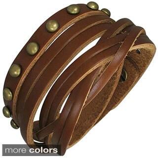 Genuine Leather 'Multi-wrap' Bracelet