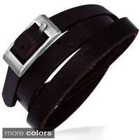 Genuine Leather Brown 'Fashonista' Bracelet