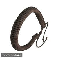 Genuine Leather 'Protection' Bracelet