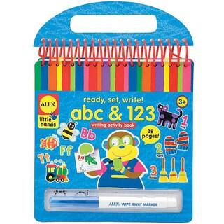 Alex Toys Ready, Set, Write! ABC & 123 Writing Activity Book