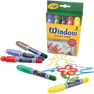 Crayola Window Crayons (Pack of 5)