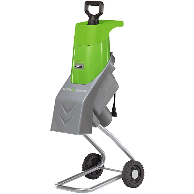 Electric 14-amp Garden Chipper/ Shredder