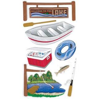 Jolee's Boutique Lake Activities Le Grande Dimensional Stickers