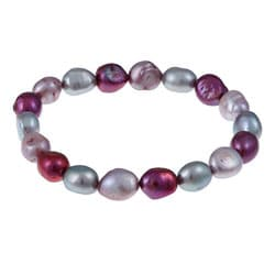 Pearls For You Freshwater Pearl Stretch Bracelet (8-9 mm)
