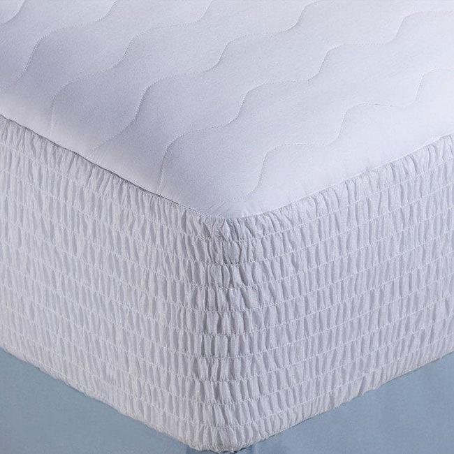 Nautica 300 Thread Count Long-staple Cotton Mattress Pad ...