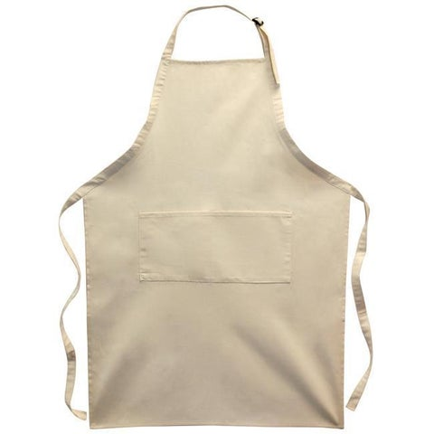 Bagworks Adult Large Natural Twill Apron