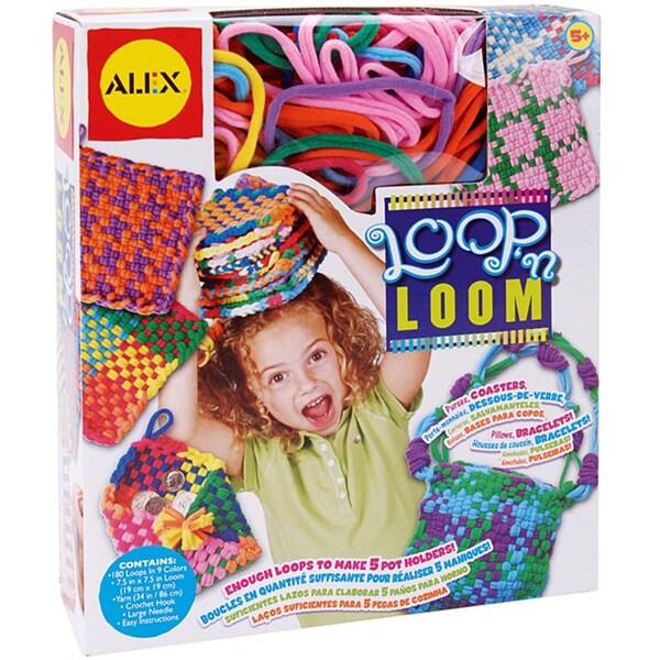 Alex Toys Loop 'n Loom Weaving Kit