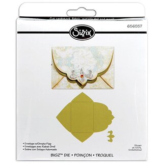 Sizzix Bigz BIGkick/Big Shot Envelope with Ornate Flap Die