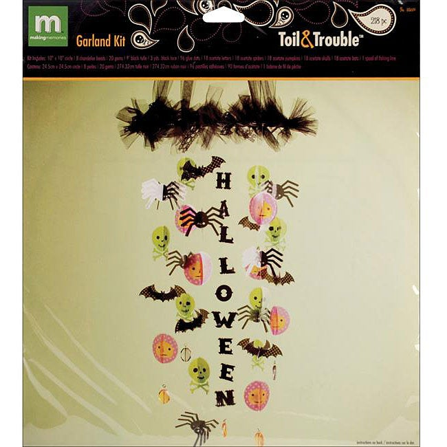 Toil & Trouble Garland Kit