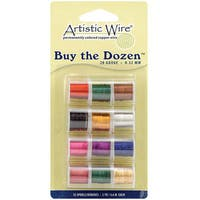 Buy The Dozen Colored 28-gauge Wire (Pack of 12)