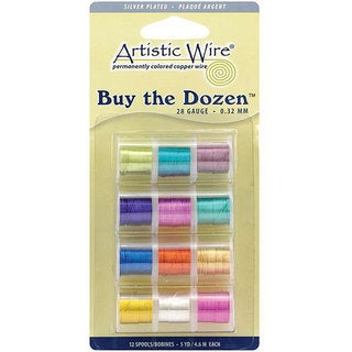 Artistic Wire 28-gauge Colored Wire (Pack of 12)
