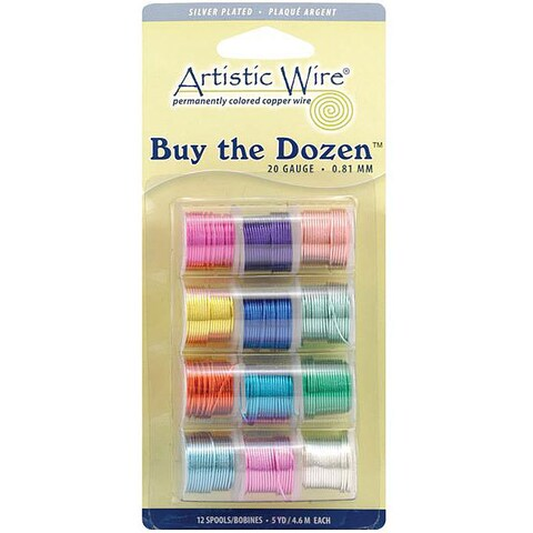 Artistic Wire 20-guage Colored Wire (Pack of 12)