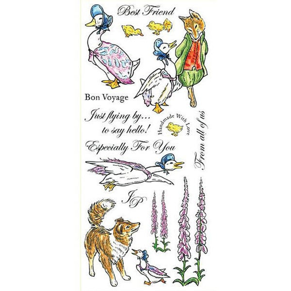 Beatrix Potter- The Tale of Jemima Puddle-duck Unmounted Stamp Set