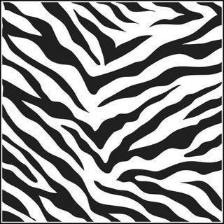 The Crafters Workshop Zebra Print Template