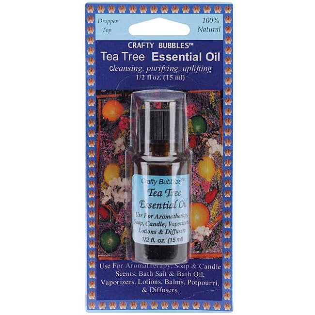 Tea Tree 0.5-oz Essential Oil (Essential Oils .5 Ounce/Pk...