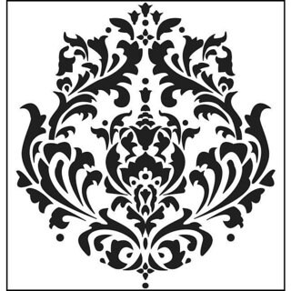 The Crafters Workshop Brocade Template