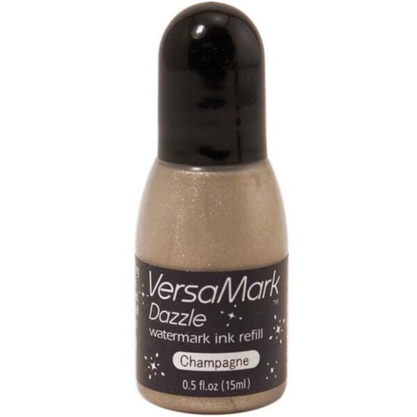 VersaMark Champagne Dazzle Inker Refill