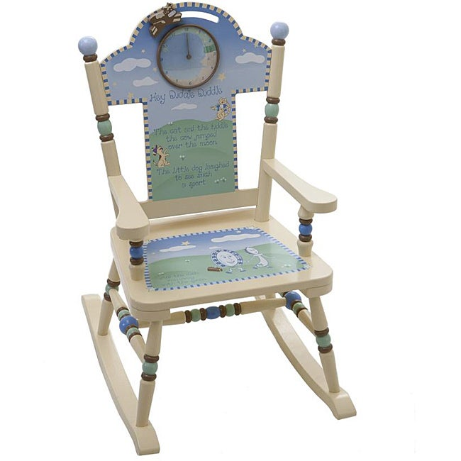 Levels Of Discovery Nursery Rhyme Childs Rocker Chair - Free Shipping ...