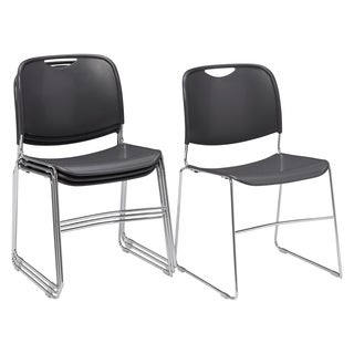 NPS Hi-tech 4-piece Ultra Compact Stack Chair Set