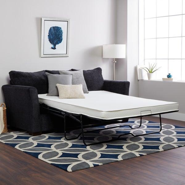 Sofa Set Size: Shop Select Luxury Flippable 4-inch Twin-size Foam Sofa
