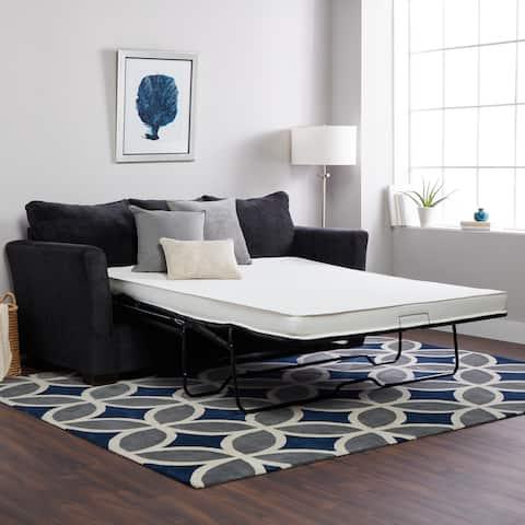 Select Luxury Flippable 4 Inch Queen Size Foam Sofa Bed Sleeper Mattress