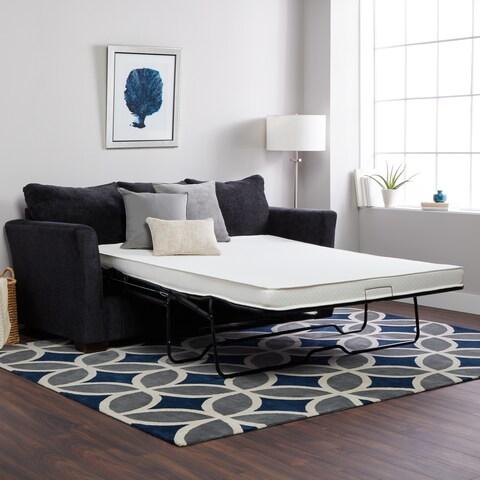 Select Luxury Flippable 4-inch Full-size Foam Sofa Sleeper Mattress (Mattress Only)