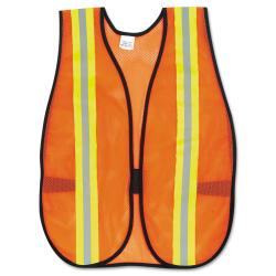 MCR One Size Fits All Orange Safety Vest