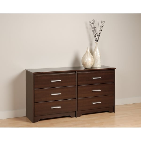 Yaletown 6-drawer Espresso Dresser