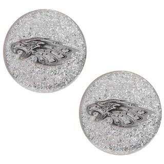 Philadelphia Eagles Glitter Stud Earrings|https://ak1.ostkcdn.com/images/products/5523005/P13302610.jpg?_ostk_perf_=percv&impolicy=medium