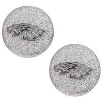 Philadelphia Eagles Glitter Stud Earrings