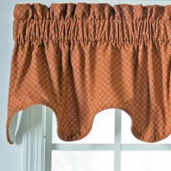 Ellis Curtain Tyvek Scallop Valance - Thumbnail 2