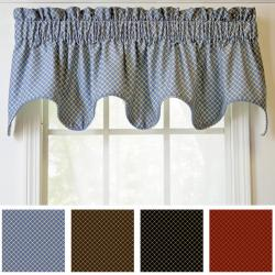 Ellis Curtain Tyvek Scallop Valance