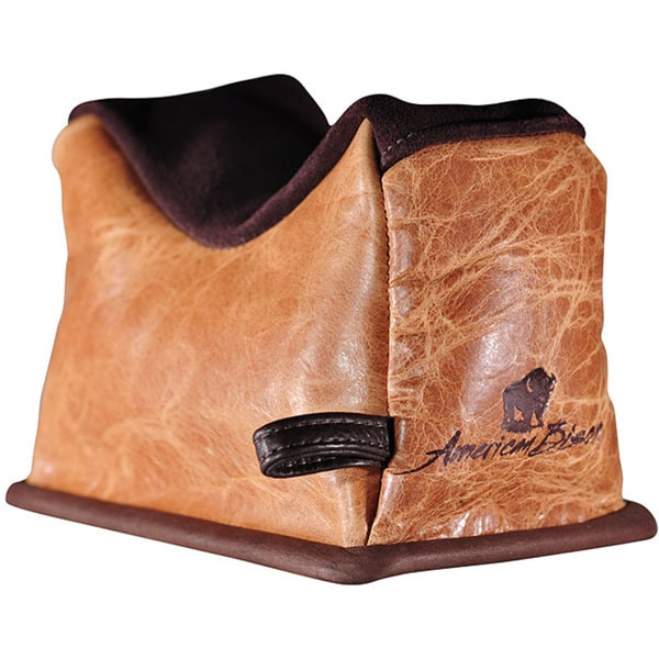 American Bison Small Leather Shooting Rest