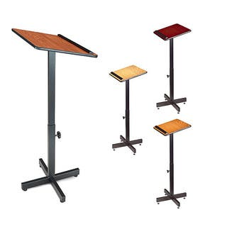Oklahoma Sound Adjustable-height Speaker Stand|https://ak1.ostkcdn.com/images/products/5524449/P13303756.jpg?impolicy=medium