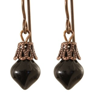 Copper 'Anything but Antiquated in Copper' Earrings