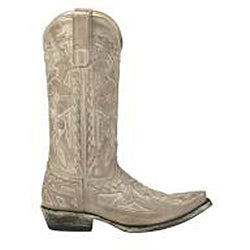 Lane Boots Women's 'Pale Rider' Cream Leather Boots