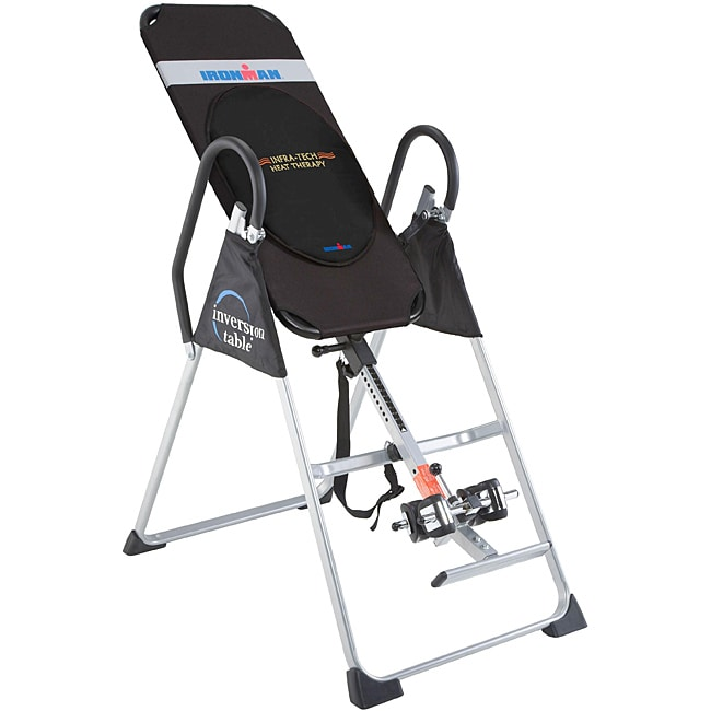 Ironman Gravity 1000 Inversion Table with Heat Therapy Cushion - Thumbnail 0