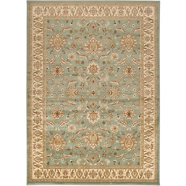 Laurel Creek Jake Border Area Rug - 5'3 x 7'6